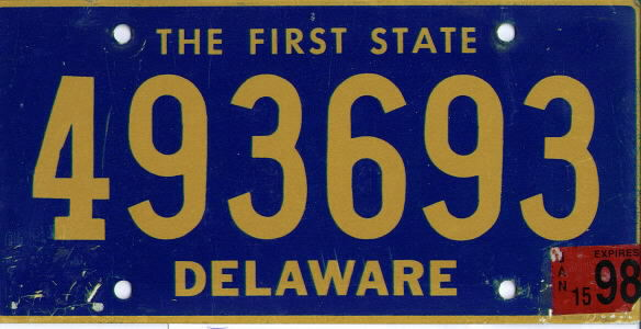 Delaware The First State VG-