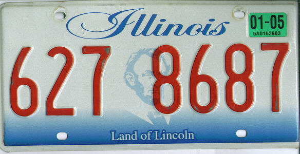 IL (current) Graphic Land of Lincoln VG