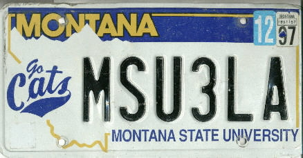1997 MT MSU go-cats VG